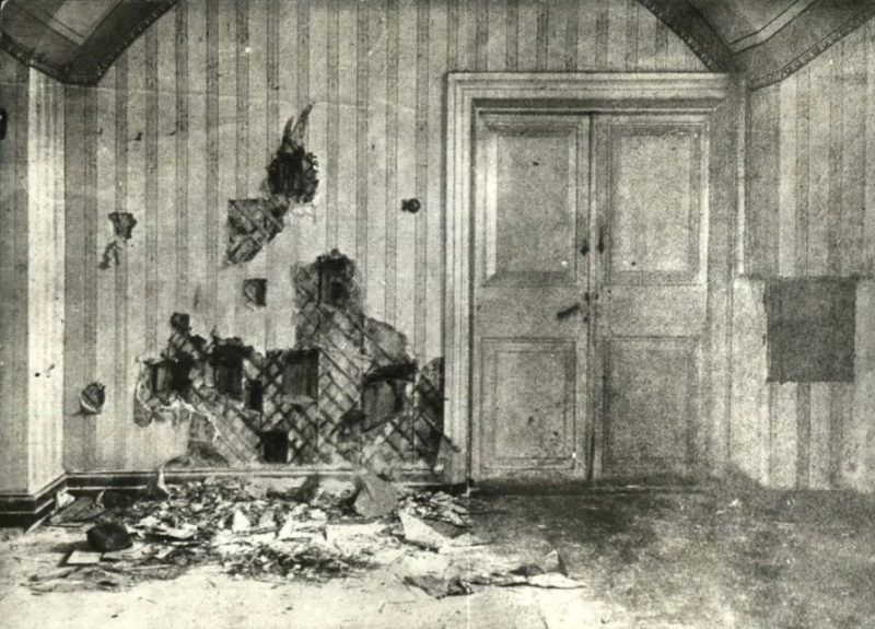 Комната расстрела царской семьи