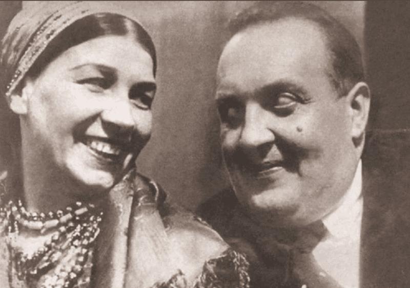 Лидия Русланова с Михаилом Гаркави