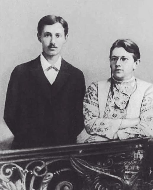 Иван Бунин с Варварой Пащенко