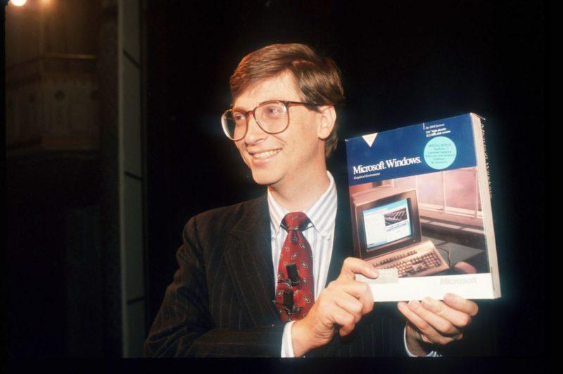 Билл Гейтс презентует Windows