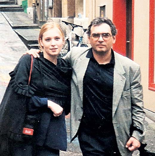 Карен Шахназаров с Дарьей Майоровой