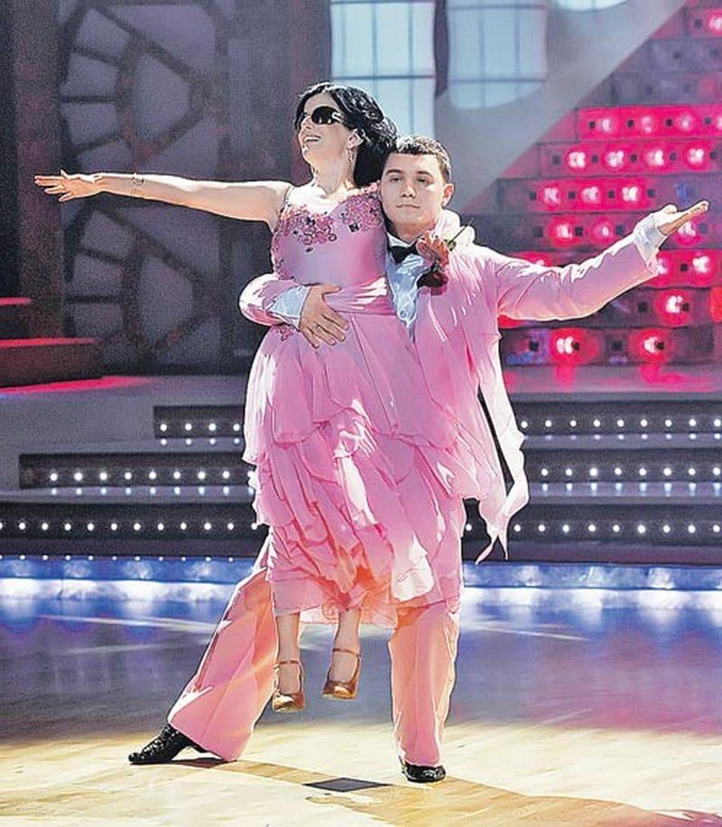 Диана Гурцкая в шоу «Танцы со звёздами»