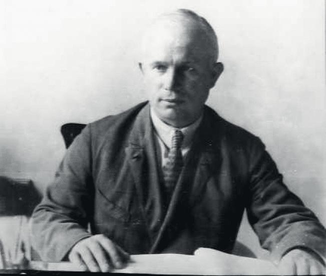 Никита Хрущев во время студенчества