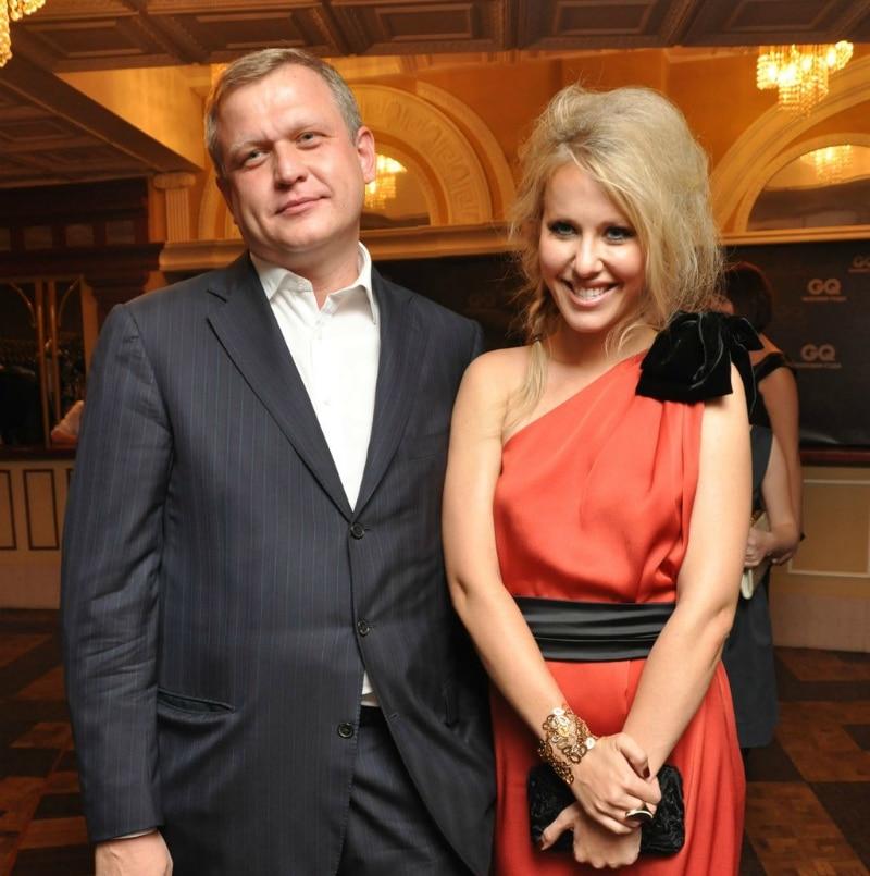 Ксения Собчак с Сергеем Капковым
