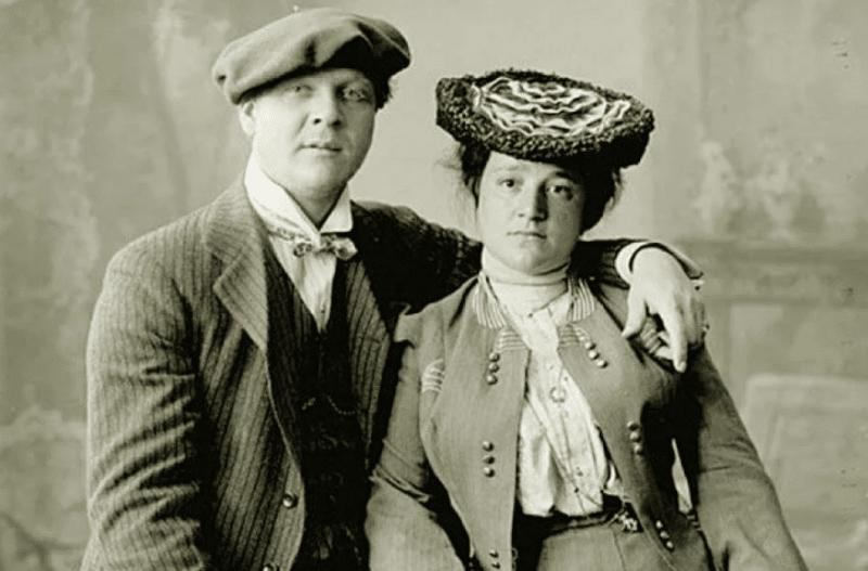 Федор Шаляпин с Иола Торнаги