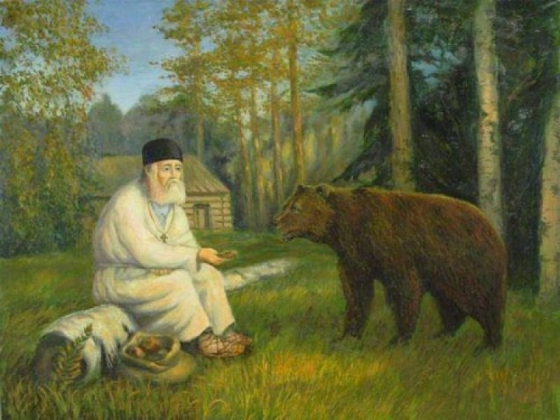 Отшельничество Серафима Саровского