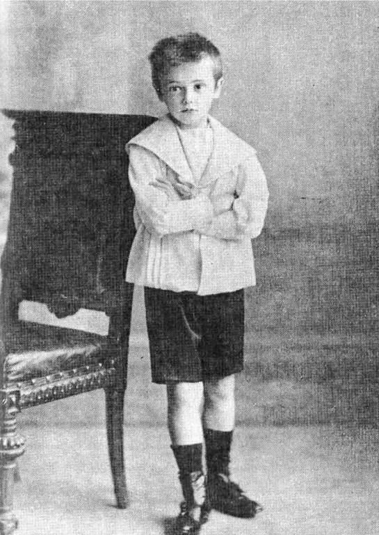 Владимир Маяковский в детстве