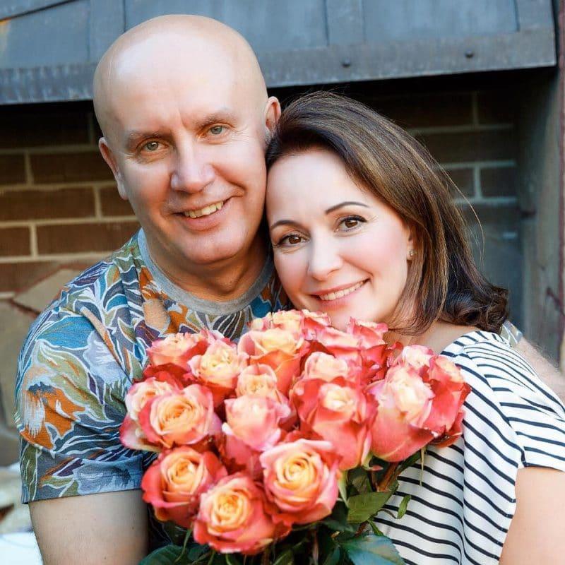 Ольга Кабо с Николаем Разгуляевым