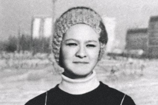 Ирина Хакамада в юности