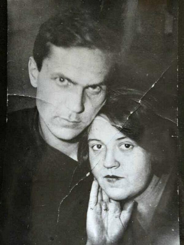 Варлам Шаламов с Галиной Гудзь