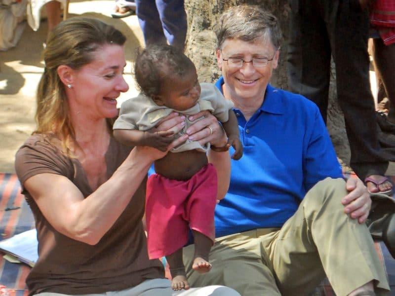 Гуманитарная помощь от «Фонд Билла и Мелинды Гейтс»