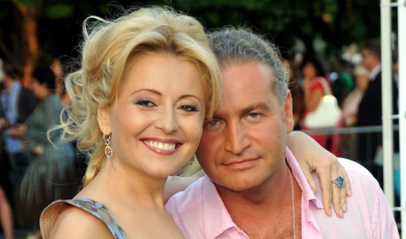 Леонид Агутин с Анжеликой Варум