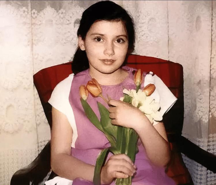 Светлана Зейналова в детстве