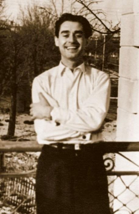 Андрей Дементьев в молодости