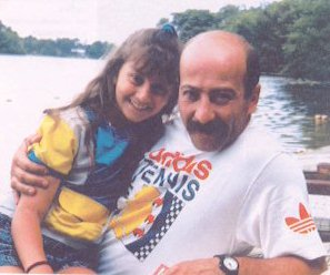 Александр Розенбаум с дочерью