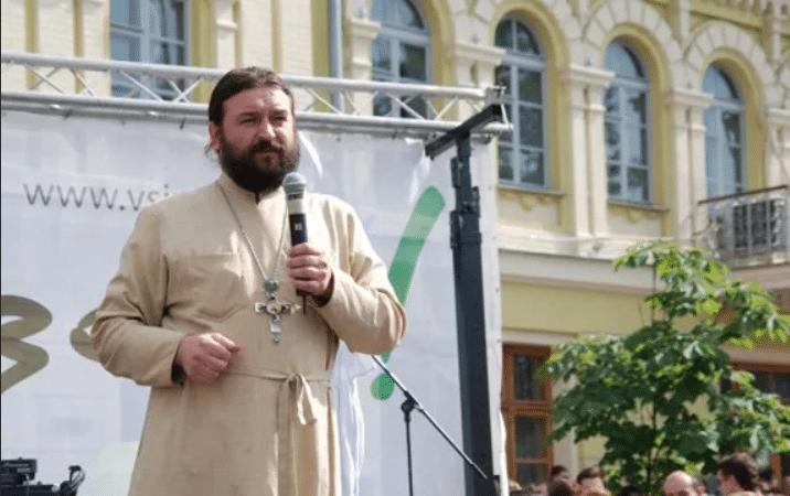 Протоиерей Андрей Ткачев в Киеве