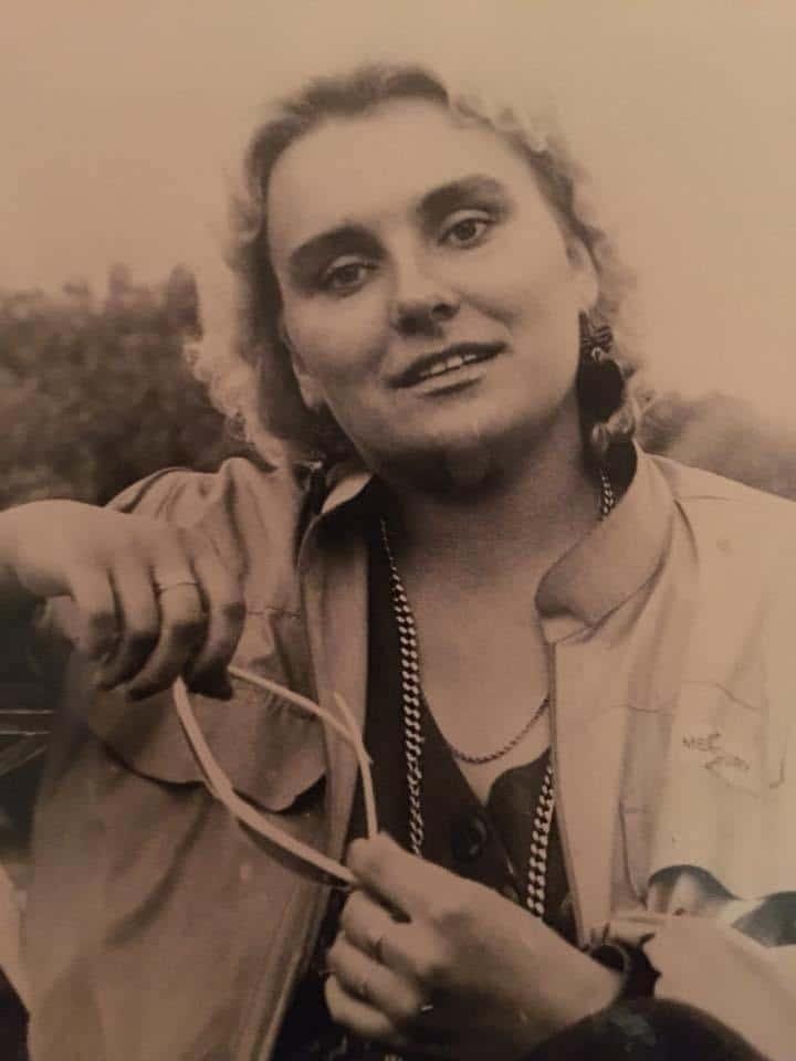 Марина Поплавская в молодости