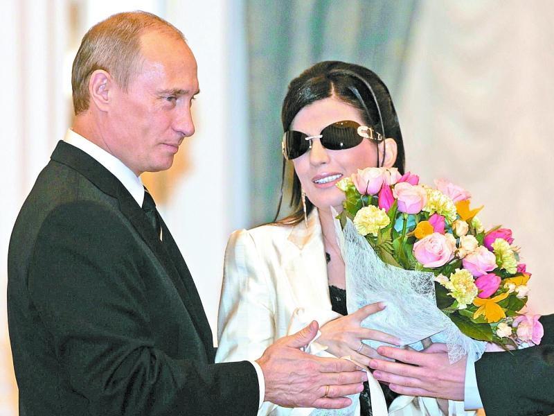 Диана Гурцкая с Путиным