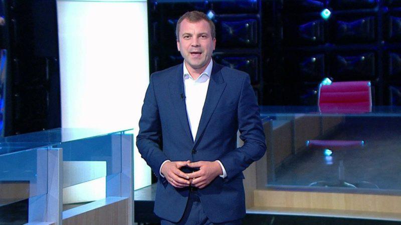 Евгений Попов ведущий «60 минут»
