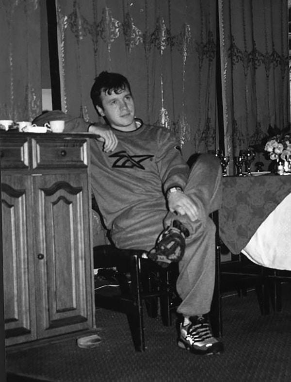 Сергей Наговицын в молодости