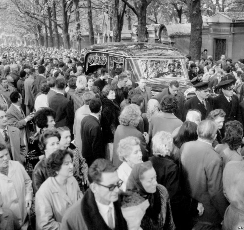 Похороны Эдит Пиаф