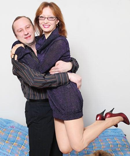 Ольга Зарубина с Андреем Саловым