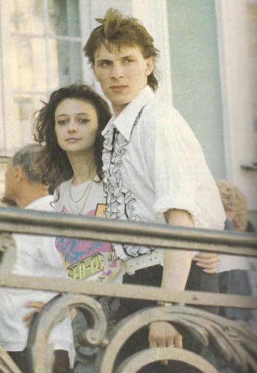 Андрей Разин с Натальей Лебедевой
