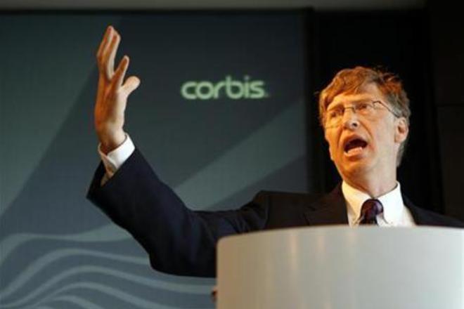 Билл Гейтс основатель Corbis