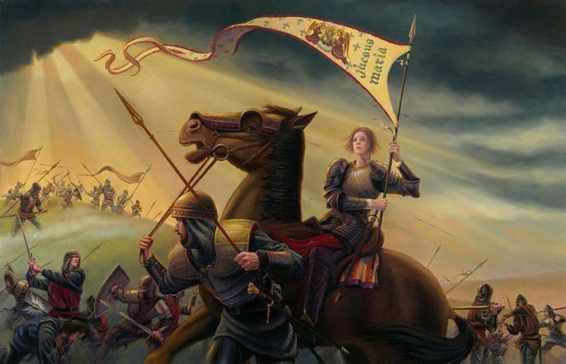 Жанна Д' Арк на войне
