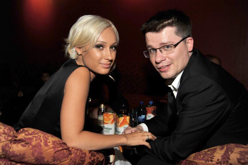 Гарик Харламов с Юлией Лещенко