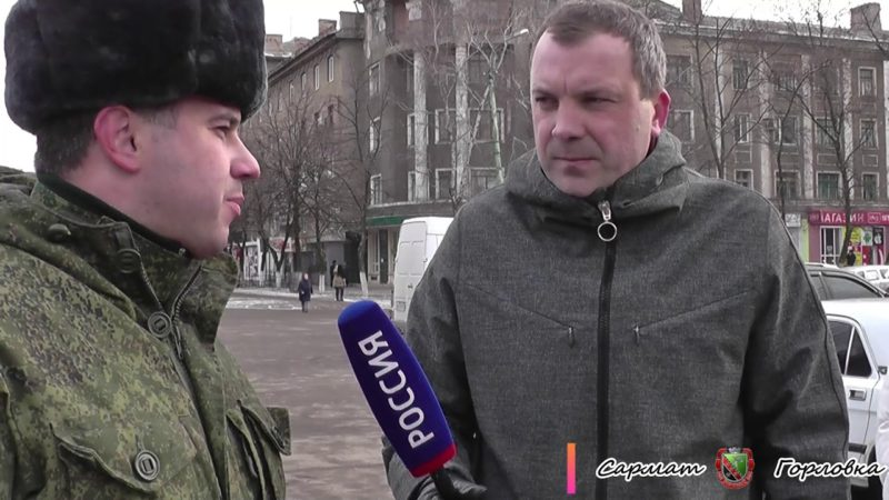 Евгений Попов на должности корреспондента в программе Вести