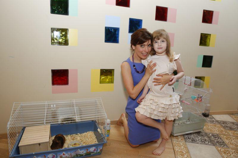 Светлана Зейналова с дочкой