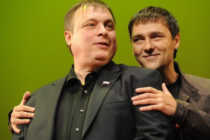 Андрей Разин с Шатуновым