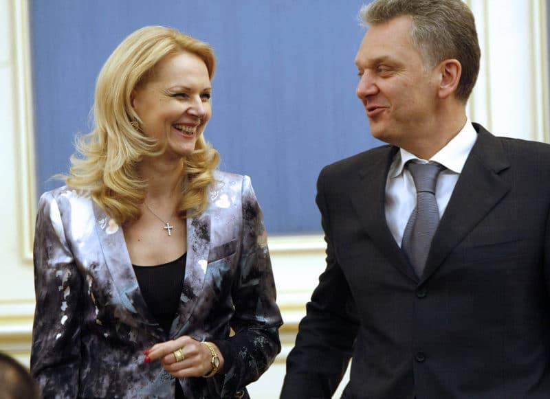 Татьяна Голикова с Виктором Христенко