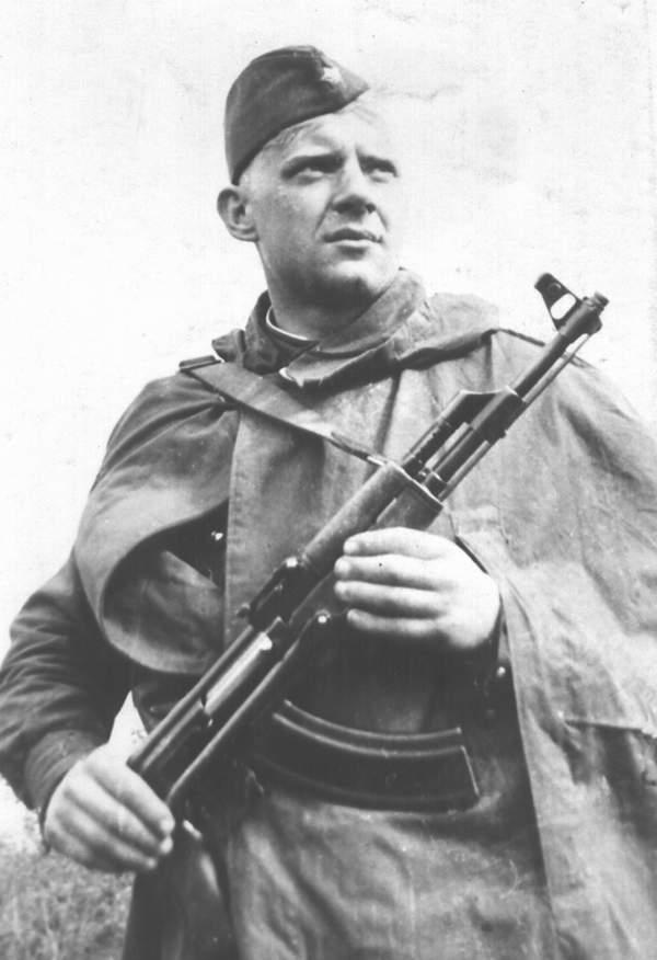 Юрий Визбор в армии