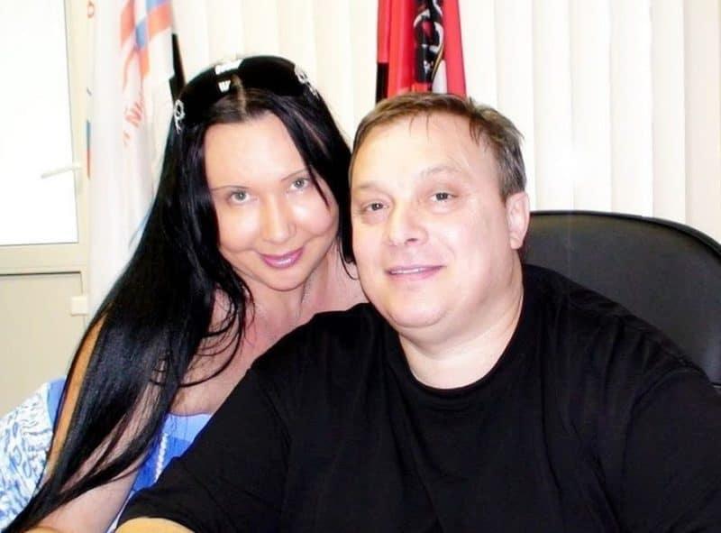 Андрей Разин с Натальей Грозовской