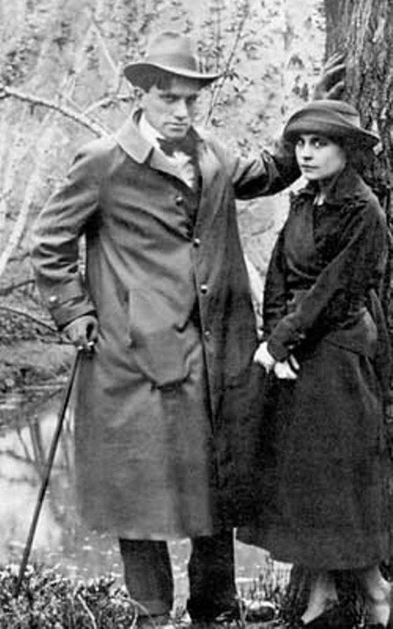 Владимир Маяковский с Лилей Брик