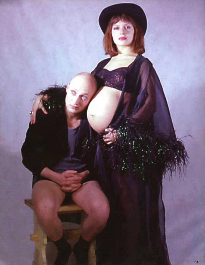 Гоша Куценко с беременной Марией Порошиной