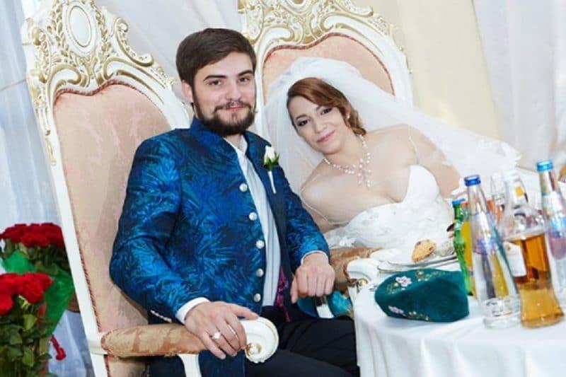 Свадьба дочери Розы Сябитовой Ксении с Андреем Снетковым