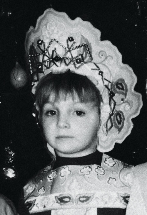 Марина Поплавская в детстве