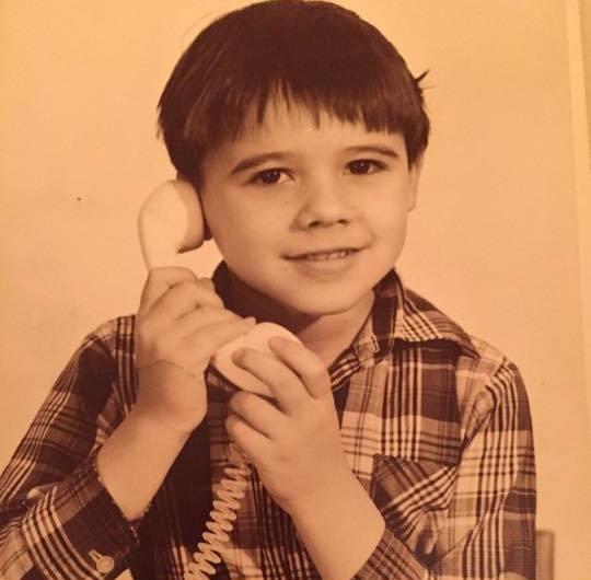 Эмин Агаларов в детстве