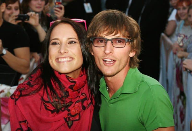 Павел Воля с Марией Кравцовой