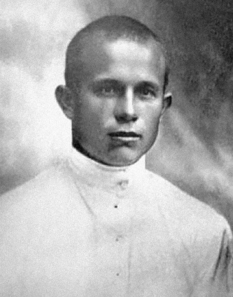 Никита Хрущев в юности