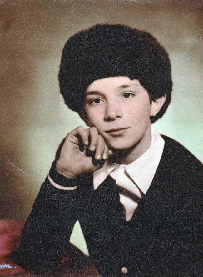 Андрей Разин в детстве