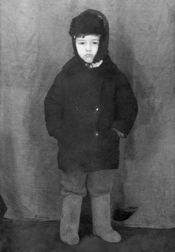 Евгений Петросян в детстве