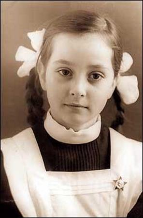 Ольга Кабо в детстве