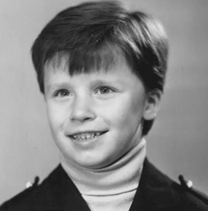 Гарик Харламов в детстве
