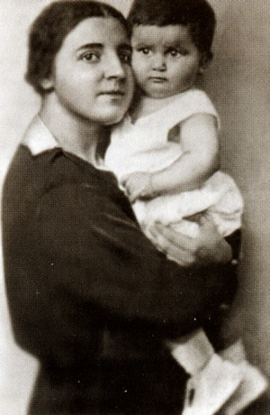 Надежда Аллилуева с сыном