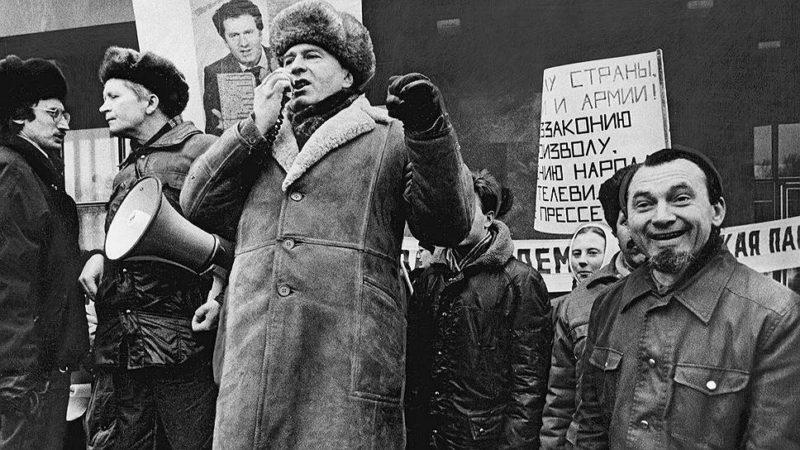 Владимир Жириновский в 1991 году