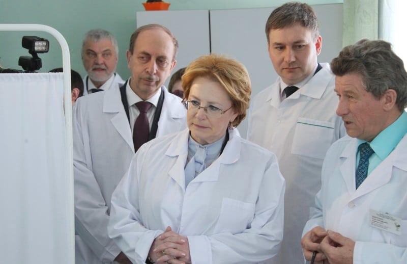 Вероника Скворцова в больнице